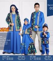 Busana Muslim Keluarga KeKe 2017