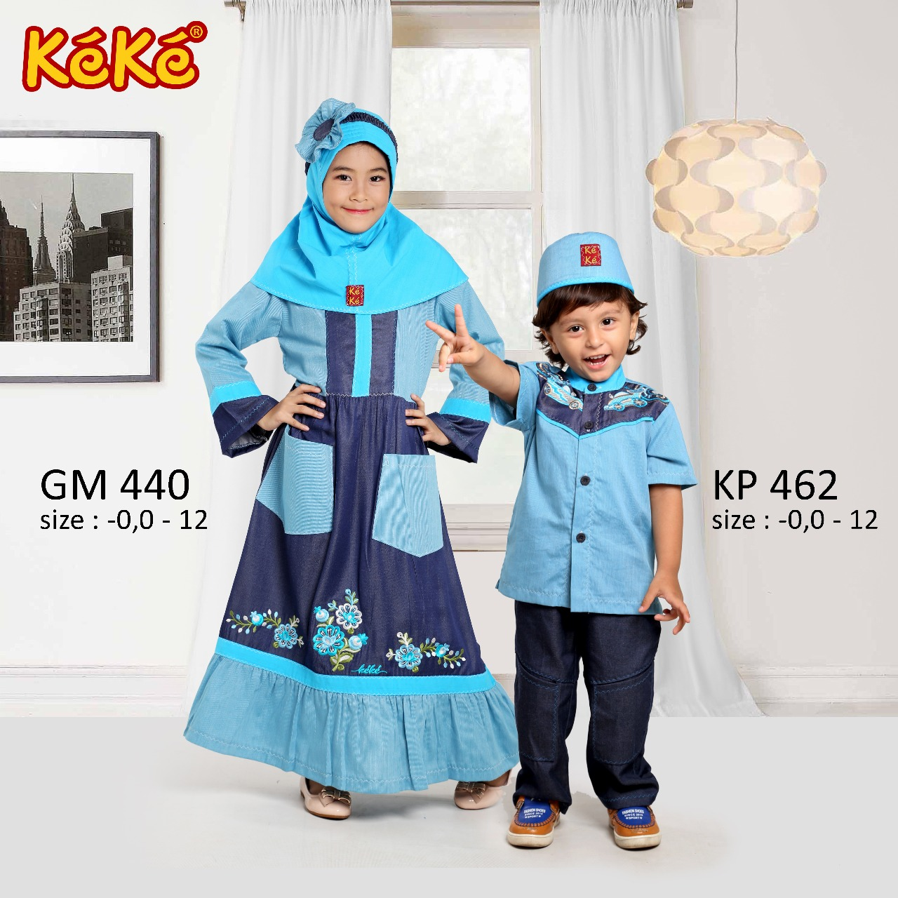 KeKe GM 440 dan KP 462