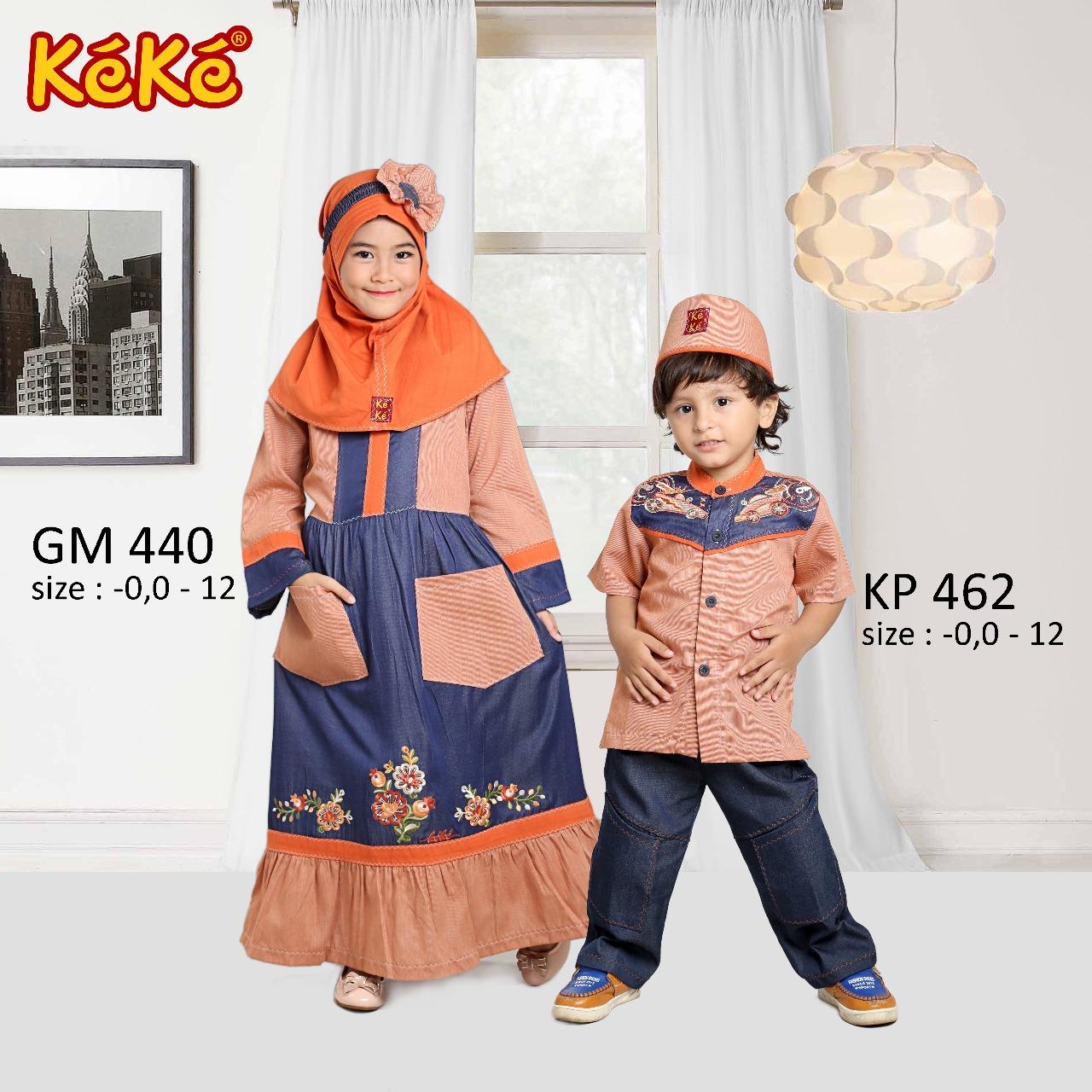 KeKe GM 440 dan KP 462 Orange