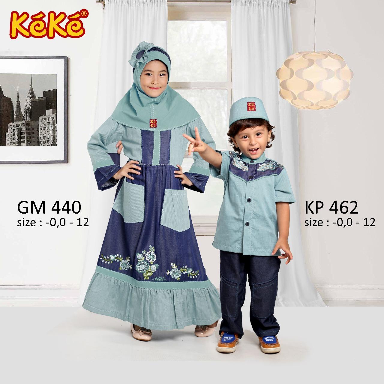 KeKe GM 440 dan KP 462 Hijau